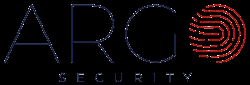 logo argo security blu
